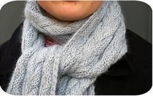 Echarpe Homme Tricot : modele tricot echarpe homme torsade ~ Melissatoandfro.com Idées de Décoration