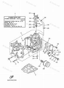 Yamaha Outboard Parts By Hp 20hp Oem Parts Diagram For