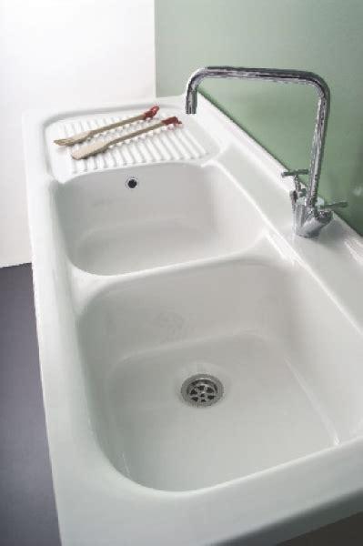 lavello ceramica lavello in ceramica 120x50 a due vasche per mobile serie