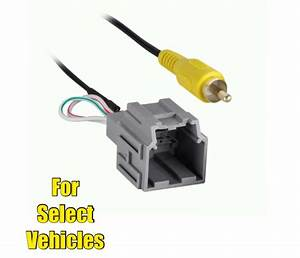 Wire Rca Plug Harness For Retaining Select Gm Factory Oem