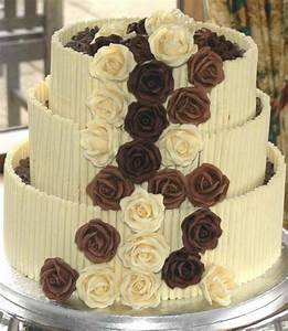 three types of chocolate wedding cake photos Hi-Res 720p HD