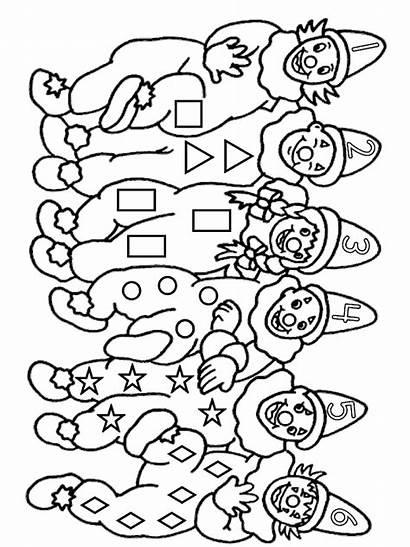 Clown Coloring Pages Cirque Coloriage Imprimer Dessin