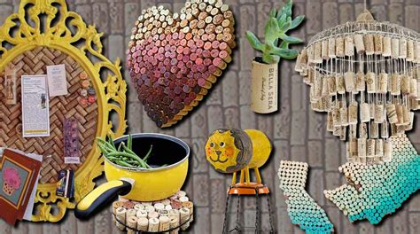 wall decor for boys 50 clever wine cork crafts you 39 ll fall in with