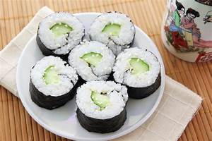 How to Make Cucumber Maki6 Steps (with Pictures) wikiHow