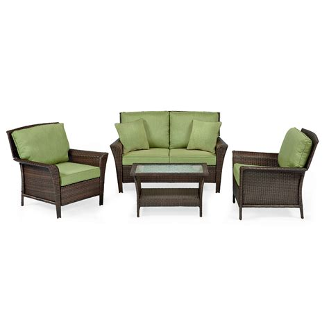 Ty Pennington Patio Furniture Parkside by Ty Pennington Parkside 4 Pc Seating Set Green Outdoor