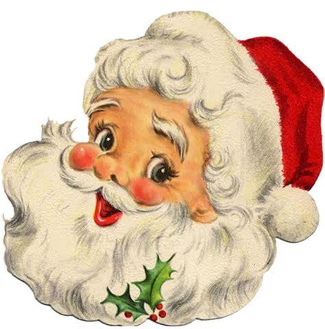 retro santa christmas vintage santa claus vintage
