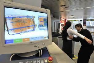 Airport Baggage X-ray Machines