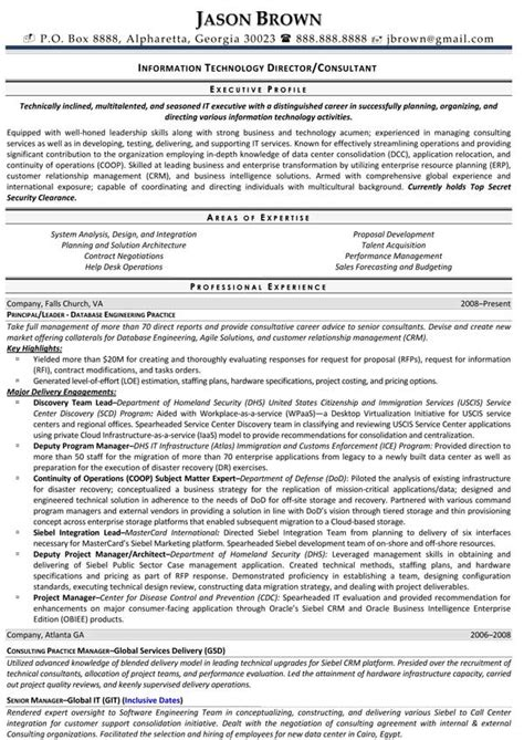 It Consultant Resume Pdf by 28 It Consultant Resume Sle Technology Consultant Resume Template Premium Resume