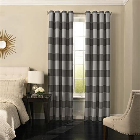 Grey Drapery Panels by Solaris Semi Opaque Grey Faux Suede Grommet Curtain 1
