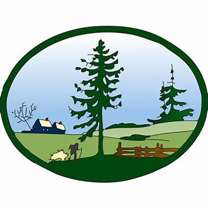 Landscaping Clipart Landscape Clipground Clip Cliparts Cartoon