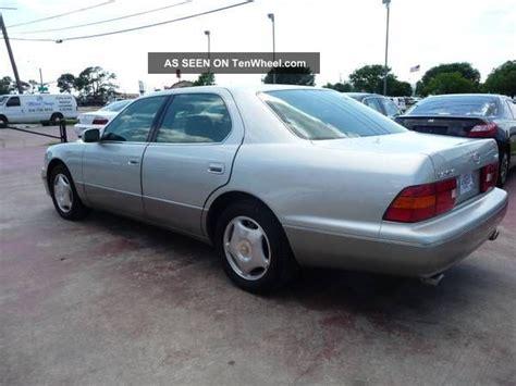 lexus sedan 2000 2000 lexus ls400 base sedan 4 door 4 0l