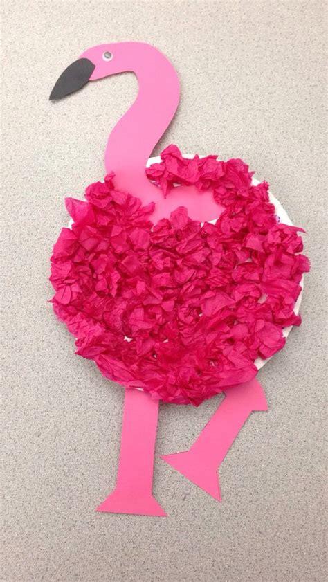 preschool flamingo craft flamingo craft paper plate 215 | e5187a0143ebec4a0f72d577caf33bba