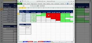 How To Create A Dynamic Gantt Chart In Excel 2010 How To