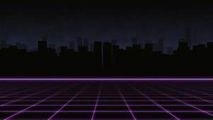 80s Retro City Background ~ Video Clip #72549572 | Pond5