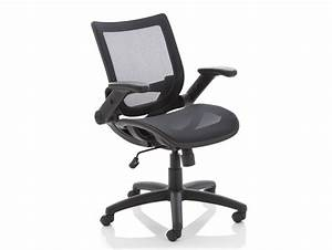 Dynamo Fuller Task Office Chair in Mesh with Folding Arms