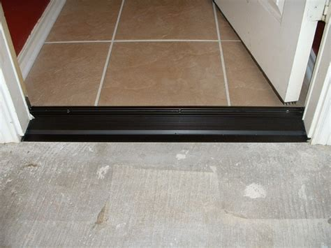 door threshold replacement threshold replacement after picture dallas by knott