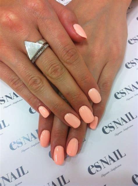 pastel neon peach essie van dgo nails pinterest