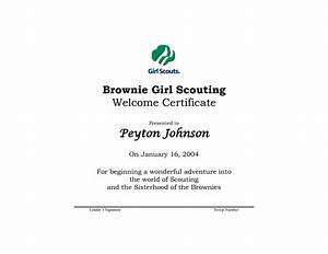 18 best images of girl scout worksheets girl scout With girl scout certificate templates