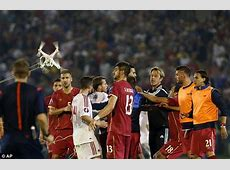 Serbia awarded 30 win over Albania after match was