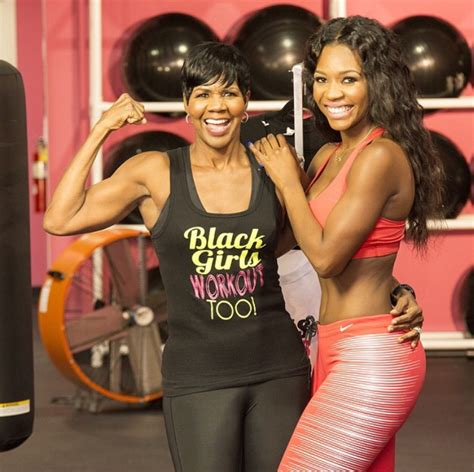 fitness business  black girls workout  mother