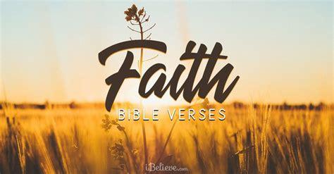 Top 25 Bible Verses About Faith