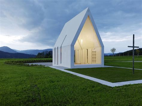 Modern Minimalist Chapel In Austria Is A New Take On An