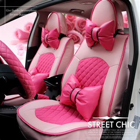 girly car brands popular pink car seat covers buy cheap pink car seat