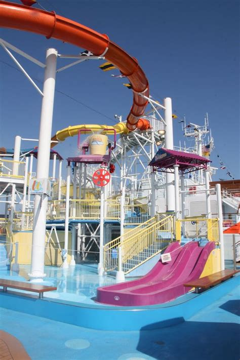 carnival magic deck carnival magic on deck waterpark once upon a time