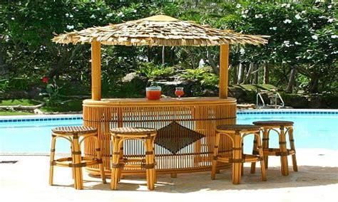outdoor bars furniture tiki bar ideas around pool outdoor
