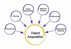 Talent Acquisition Strategy Stock Illustration