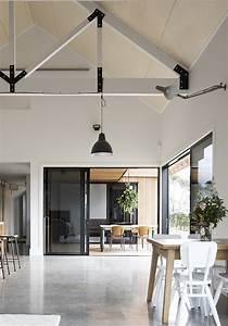 Modern Barn Form - Innovative Black Barn by Red Architecture  Modern