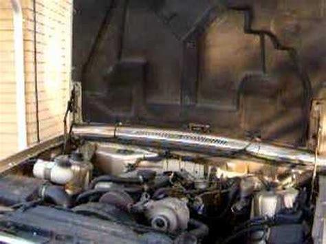 volvo  turbodiesel cold start youtube
