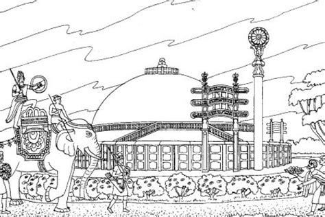 Free Coloring Pages For Boys And Girls Various Architecture