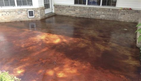 NWA DealPiggy   Interior or Exterior Stained Concrete