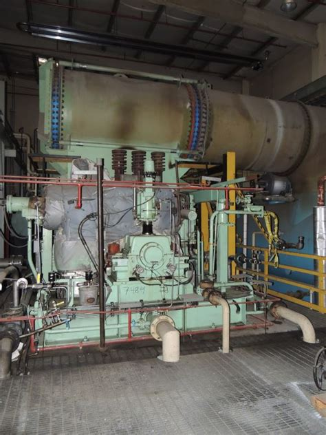 mw abb alstrom gec ahlstrom steam turbine  mw