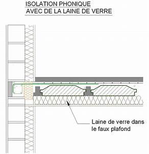 Fenetre Isolation Phonique : isolation phonique faux plafond maison travaux ~ Preciouscoupons.com Idées de Décoration