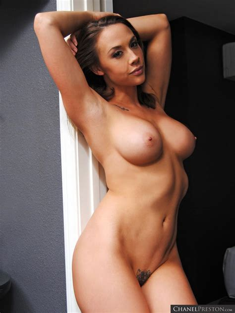 Busty Babe Chanel Preston Gets Kinky All Naked At Home