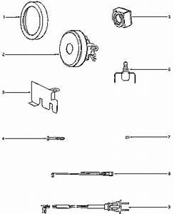 Eureka 3670g Mighty Mite Vacuum Diagram