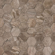 Tilecrest Stone Mountain Hexagon Mosaic 2 x 2 Tile & Stone