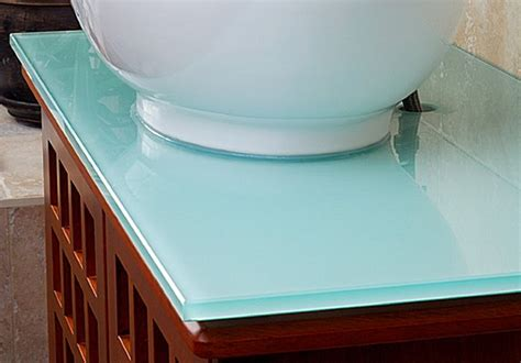 bathroom sink materials pros and cons home improvement glass countertops