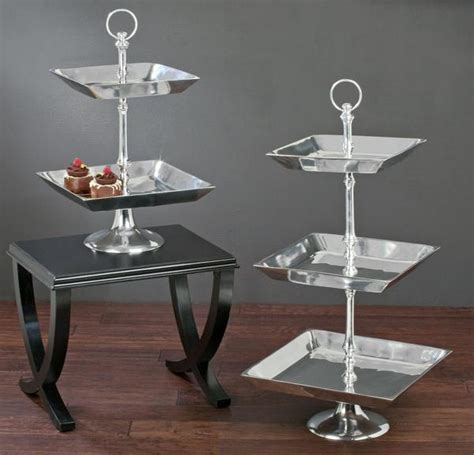 3 tier serving tray tiered displays platforms by tripar international inc 3862