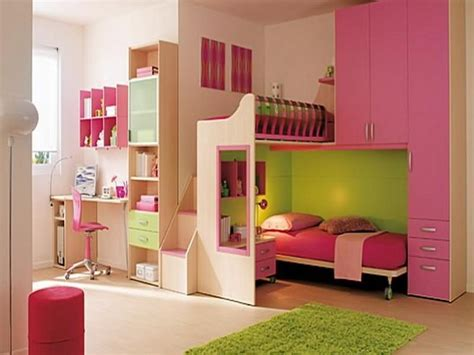 Kids Bedroom With Attached Study Room Interior Design