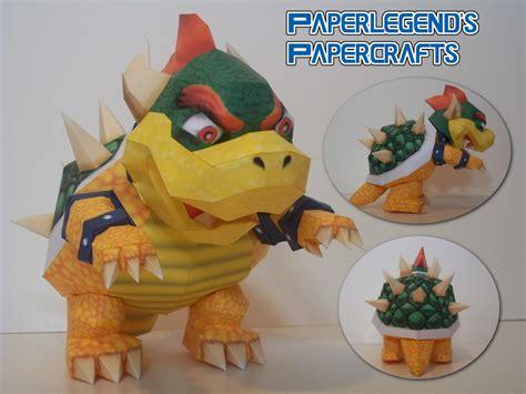 Paperlegends Papercrafts Super Mario 64 Bowser