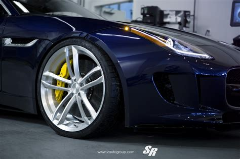 Jaguar F-type On Pur Wheels Is Pure Fantasy