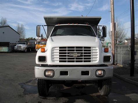 Chevrolet Kodiak Medium Duty Dump Truck For