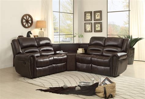 sofa beds design charming contemporary 3 piece sectional sofa with recliner design for small