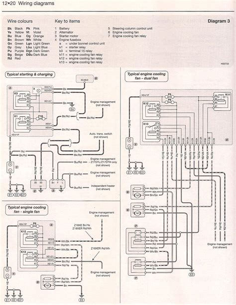 Astra Vxr Wiring Diagram