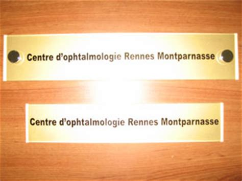 plaques ophtalmologues professionnelles plexiglas de rue plaque medecin ophtalmologiste cabinet