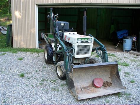 Garden Tractor by Bolens Ht23 Garden Tractor With Brantly Front End Loader