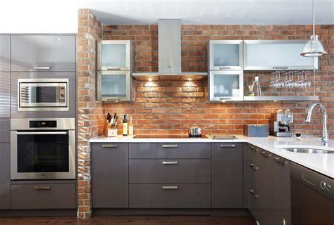 cuisine avec brique davaus cuisine brique et bois avec des idées